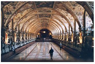 Jacopo Strada - The Antiquarium (begun 1568—71) in the Munich Residenz
