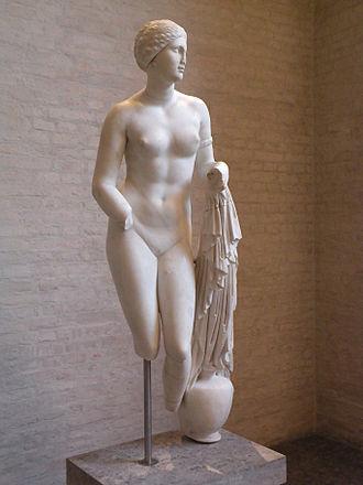 Aphrodite of Knidos - Aphrodite of Cnidus, Glyptothek Munich