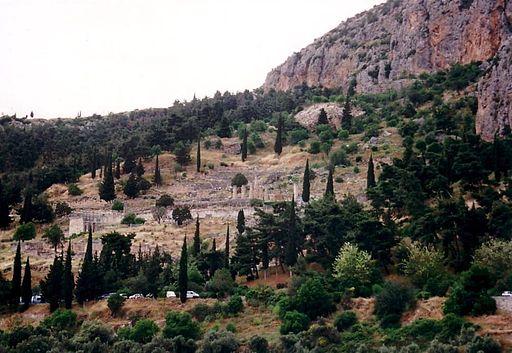 Apollon Tempel Delphi