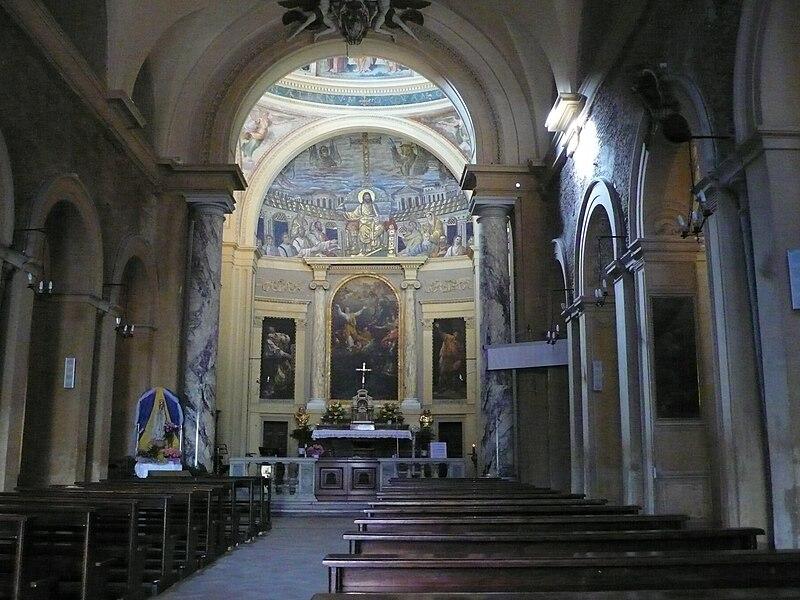 File:Apsis mosaic, Santa Pudenziana, Rome W1.JPG