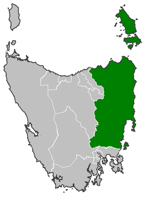 Electoral division of Apsley - Image: Apsley tas legislative council
