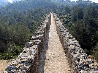 Les Ferreres Aqueduct - Image: Aqüeducte de les Ferreres Tarragona 3