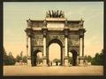 Arc de Triomphe, du Carrousel, Paris, France-LCCN2001698548.tif
