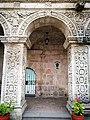 Arc gravat del Claustre de l'església convent de la Compañia de Jesús d'Arequipa.jpg