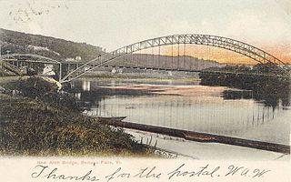 Arch Bridge (Bellows Falls) bridge in Bellows Falls, Vermont, USA