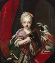 Erzherzogin Maria Josepha von Österreich als Kind (Quelle: Wikimedia)
