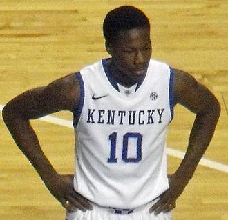 2013–14 Kentucky Wildcats men's basketball team - Archie Goodwin entered the NBA Draft