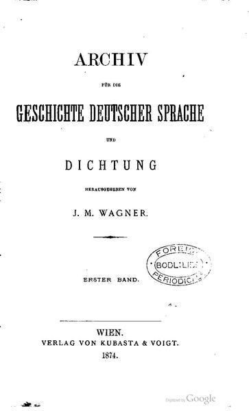 File:Archiv für die Geschichte deutscher Sprache und Dichtung 1.pdf