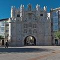 Arco de Santa María (Burgos). Fachada principal.jpg