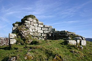 Ardpatrick round tower, Co. Limerick, Ireland