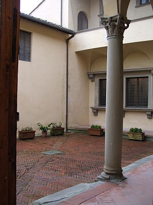 Ser Petracco - Image: Arezzo Casa di Francesco Petrarca cortile