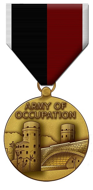 Army of Occupation Medal - Image: Army of Occupation Medal