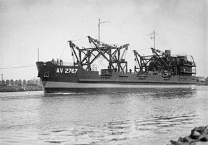 Australian Army ship Crusader (AV 2767) - Crusader in December 1945