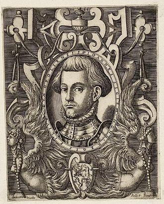 John Sigismund Zápolya - John Sigismund around 1560