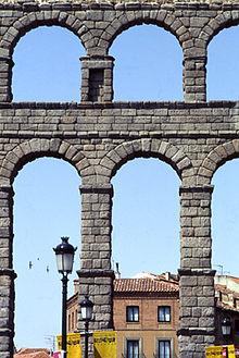 Arcada wikipedia la enciclopedia libre - Acueducto de segovia arquitectura ...