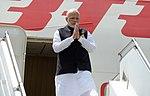 Arrival of Narendra Modi, Prime Minister of India (45378999534).jpg