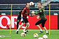 Arsenal players training before 2019 UEFA Europa League final 20.jpg