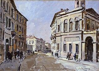 Via Monte di Pietà nel 1840