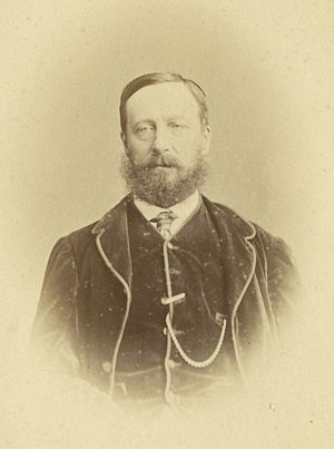 Arthur Collins (politician) - Arthur Collins in 1860