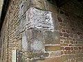 Artimino, san leonardo, resti di sarcofagi etruschi nella muratura (in copia) 01.JPG