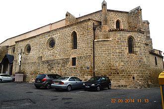 Arzens - The Church of Saint-Genès