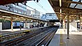 Asakadai Station up platform south end 20141115.JPG