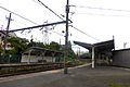 Asano Station Umi-Shibaura Branch Line platforms - june 14 2015.jpg