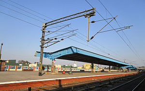 Asansol Junction railway station - station platform