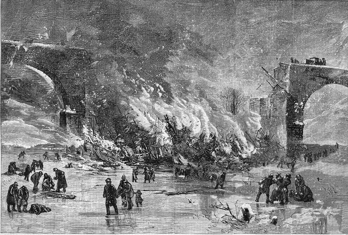 Ashtabula River Railroad Disaster Wikipedia