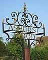 Ashurst Wood signpost.jpg