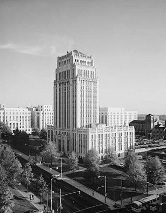 Atlanta City Hall - Current Atlanta City Hall, listed on National Register