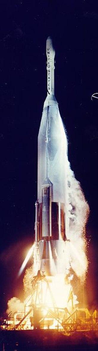 Pioneer P-3 - The Atlas-Able rocket