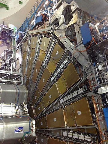 ATLAS-detektorn vid LHC.