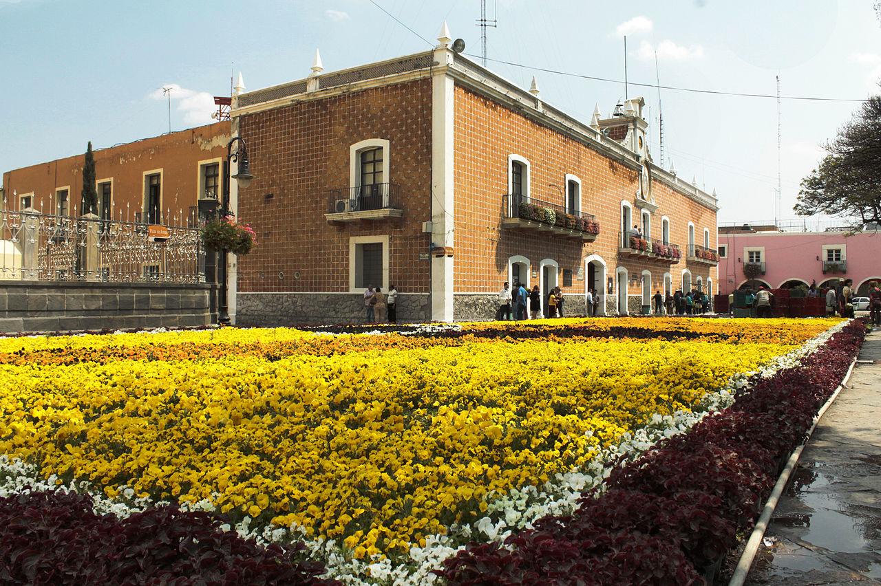 Vista del Centro Histórico de Atlixco, Puebla