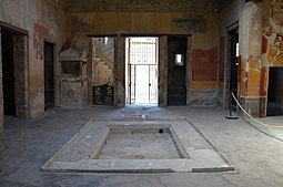 Atrium of the House of the Menander (Reg I), Pompeii (15142118606)