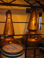A Scotch whisky distillery
