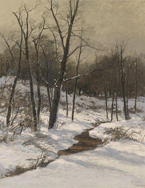 File:August Fink Winterliche Bachlandschaft.jpg