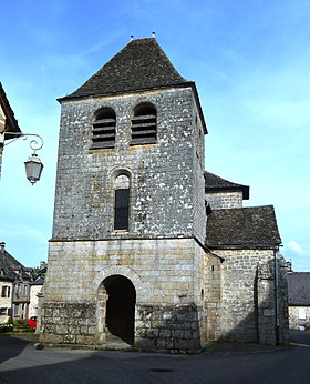 Auriac, Correze, Church.JPG