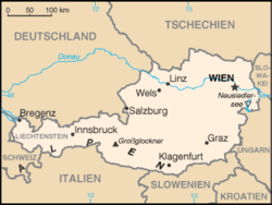 map of austria with cities List Of Twin Towns And Sister Cities In Austria Wikipedia map of austria with cities