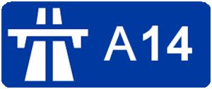 A14 autoroute - Image: Autoroute A14