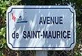 Avenue de Saint-Maurice (Miribel) - panneau.jpg
