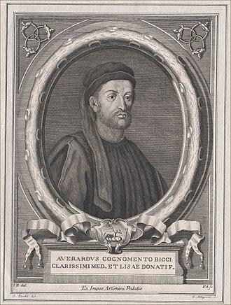 Averardo de' Medici - 17th-century image of Averardo de' Medici
