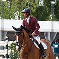 Awal al Qahtani & Sjoeke - 2013 Longines Global Champions Tour.jpg