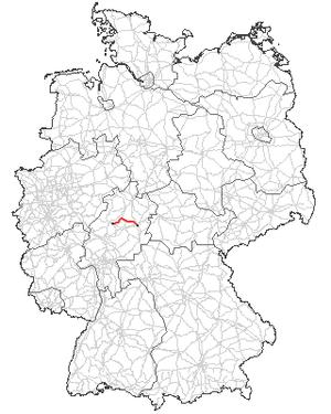 Verlauf der B 454