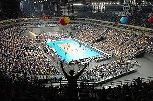 FIVB Volleyball World League - Image: BG Arena 4