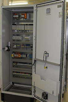 Merveilleux Allen Bradley PLC Installed In An Electrical Enclosure