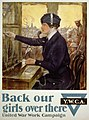 Back our girls over there United War Work Campaign - - Clarence F. Underwood. LCCN93510431.jpg