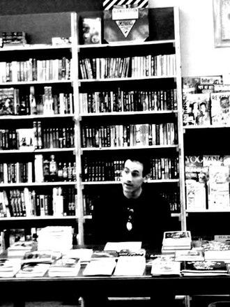 D. Harlan Wilson - D. Harlan Wilson reading at Kafe Kerouac in Columbus, Ohio