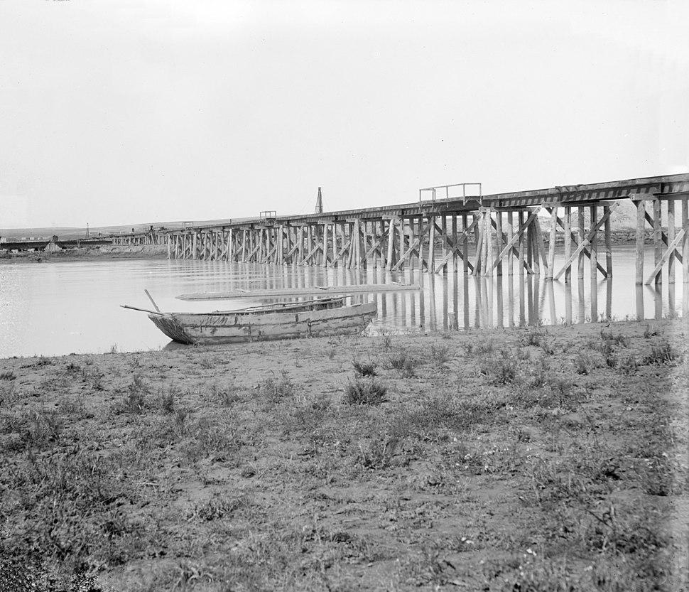Baghdad Railway Euphrates wooden bridge