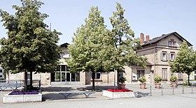 bahnhof bensheim auerbach wikipedia. Black Bedroom Furniture Sets. Home Design Ideas